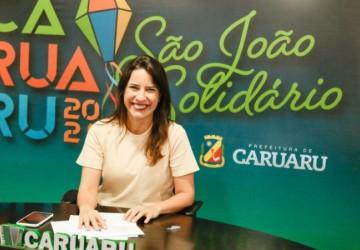 Raquel Lyra anuncia o São João Solidário 2021 e novos benefícios para trabalhadores
