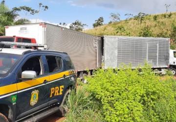 Medicamentos e caminhões roubados são recuperados em Jaboatão