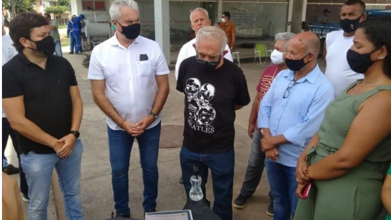 O prefeito Yves Ribeiro (MDB), acompanhado do vice-prefeito Dido Vieira (MDB), autorizou a duplicaçãodo novo trecho que irá até a PE-22.