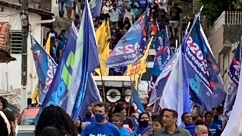 Mais de 1.000 pessoas compareceram ao bairro histórico de Camaragibe para apoiar o candidato a prefeito pelo Progressista