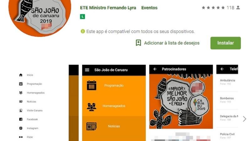 Este ano, a ferramenta foi desenvolvida por estudantes da Escola Técnica Estadual (ETE) Ministro Fernando Lyra, sob a orientação do Professor Paulo Henrique Ramos