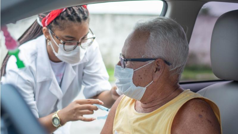 As equipes de Saúde do município estão preparadas para receber o público e vão abrir o Centro de Vacinação Covid-19, na PE-60