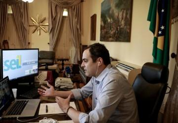 Paulo Câmara discute cenário da pandemia com epidemiologista Wanderson Oliveira
