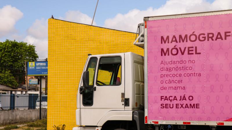 No Hospital da Mulher, haverá mutirão de inserção de DIU e mamografias por demanda espontânea; no mamógrafo móvel, serão disponibilizadas mais 20 vagas em cada ação