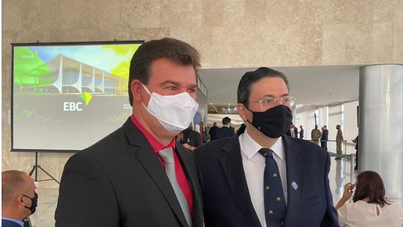 Em Brasília, o prefeito Gildo Dias conversou com o presidente da Fundação Joaquim Nabuco, Antonio Campos, que se colocou a instituição a disposição para a parceira técnica para o espaço