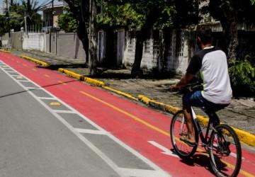 PCR entrega duas novas ciclofaixas no Centro e Zona Norte do Recife