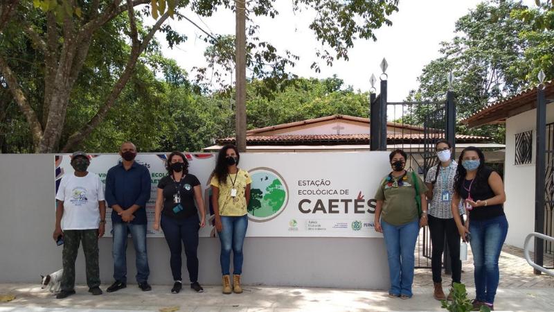 Por meio da Secretaria de Desenvolvimento Urbano, Tecnologia e Meio Ambiente, Prefeitura de Paulista comparece a comemoração de aniversário da unidade de conservação