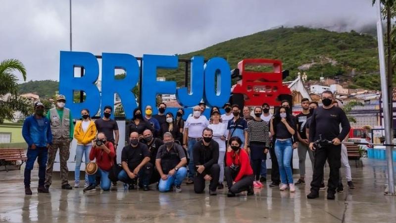 Equipe de fotógrafos de vários municípios do estado, conheceu as belezas naturais, culturais e históricas do município no agreste pernambucano