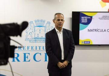 Prefeitura do Recife inicia matrículas para novos estudantes da rede nesta terça-feira (12)