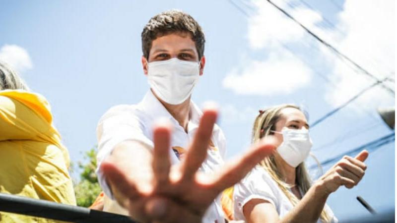 Candidato da Frente Popular do Recife também participou da inauguração do comitê do candidato a vereador Carlinhos Bala