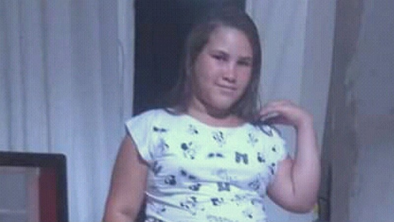 Joclecia da Silva, de 12 anos, desapareceu do bairro Severino Afonso, em Caruaru