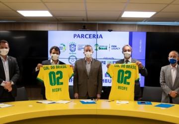 Secretaria de Esportes e CBF firmam projeto que vai beneficiar 240 crianças no Recife