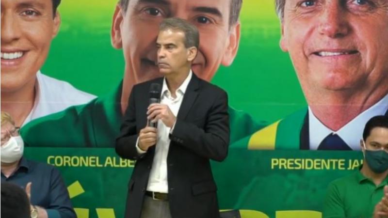 Feitosa acusou o Podemos de praticar a velha política e reafirmou que não apoiará os candidatos do PT e PSB.