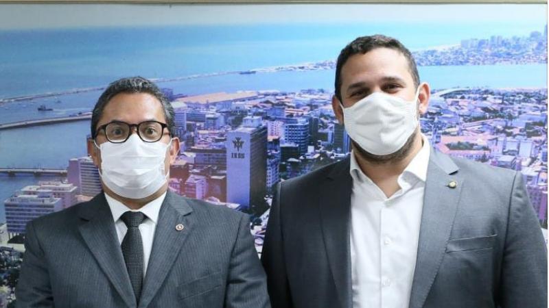 O vereador do Recife conheceu o projeto em reunião com o Procurador-Geral de Justiça de Pernambuco, Paulo Augusto Freitas. O MPPE está buscando parcerias para instalar os pontos.