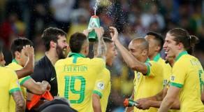 Brasil confirma favoritismo e vence Copa América contra o Peru