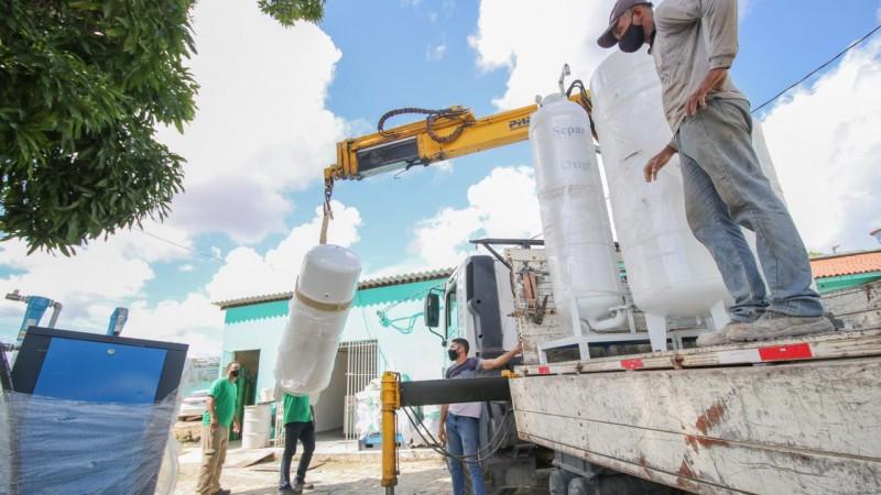 O sistema vai ampliar a capacidade de produção do gás, num momento de maior demanda por causa da pandemia do novo coronavírus.