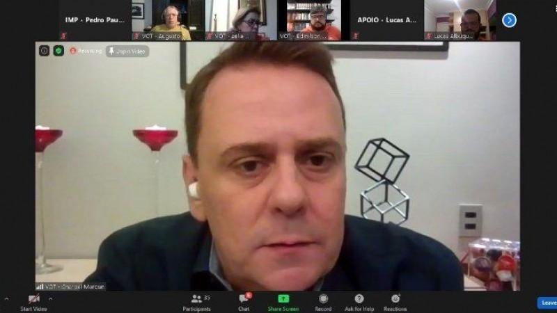 Ato virtual contou com a participação do governador de Minas Gerais, Romeu Zema