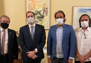 Tadeu Alencar e Ricardo Ramos se reúnem com Paulo Câmara para tratar demandas para Ouricuri