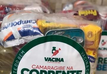 Camaragibe inicia distribuição de cestas básicas às famílias em situação de vulnerabilidade