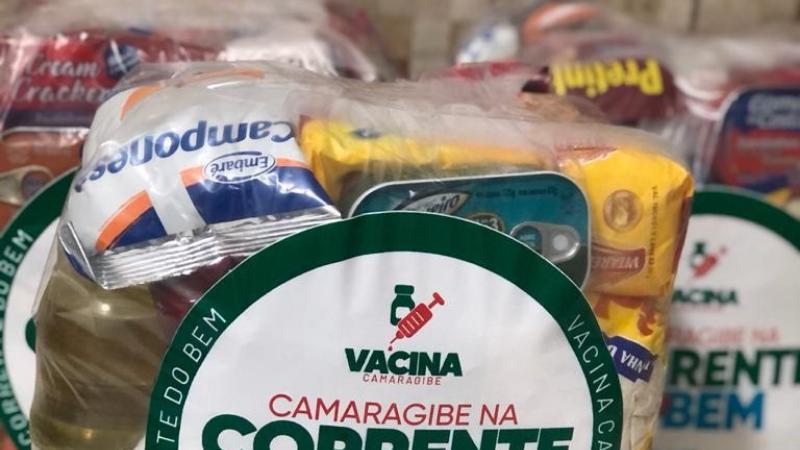 Irão receber as doações as famílias em extrema vulnerabilidade referenciadas nos CRAS do município. Cada cesta contém uma média de 20 itens.