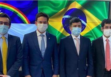 Claudiano Martins, Lula da Fonte e Eduardo da Fonte se reúnem com o Ministro da Cidadania em Brasília