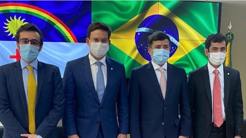O presidente do PP no Recife tem acompanhado constantemente seus correligionários em agendas importantes para Pernambuco