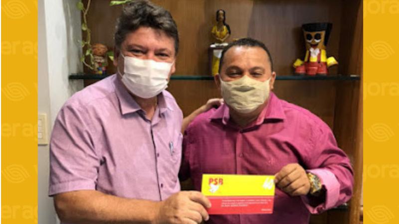 O presidente estadual do PSB, Sileno Guedes, abonou a ficha de filiação do empresário