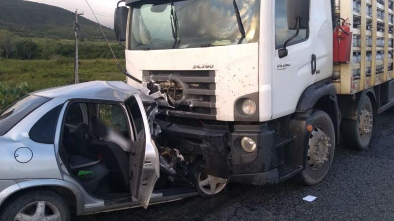 PM Michael Mendes Cavalcanti não resistiu ao impacto da colisão e morreu no local
