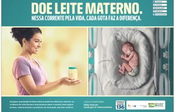 Mães em fase de amamentação podem doar leite