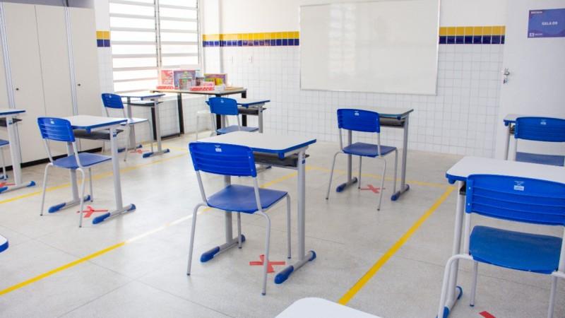 Retomada das atividades presenciais será realizada de forma escalonada; nesta primeira etapa retornam às aulas os estudantes do Ensino Fundamental Anos Finais