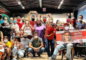 Vivian Farias reúne reforço de Olinda para campanha de Marília no Recife