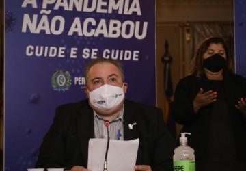 Governo de Pernambuco prorroga atuais medidas restritivas até o dia 23 de maio