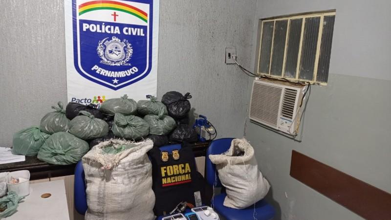 O grupo agia e comercializava drogas no sertão, agreste e região metropolitana de Recife.