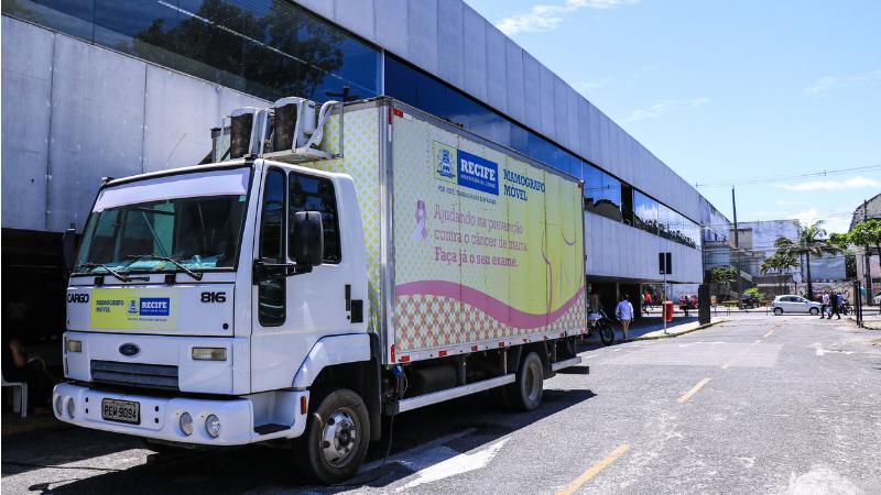 Ações do mamógrafo móvel começarão nesta segunda-feira (4)e o caminhão percorrerá 20 pontos da capital