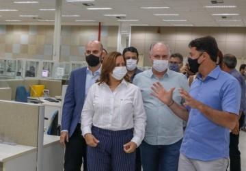 Ipojuca busca parceria com Jaboatão para o setor de iluminação pública em Ipojuca