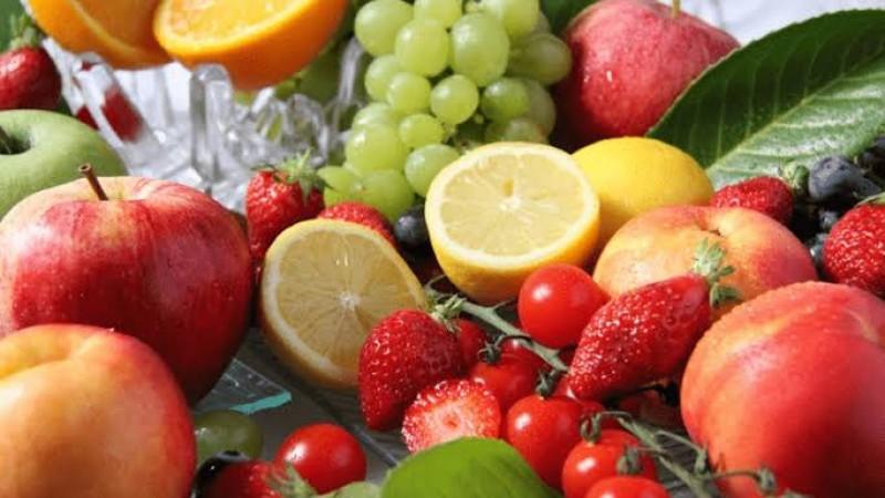 Frutos do mar, frutas vermelhas, grãos, e entre outros