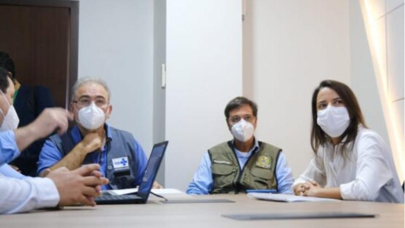 Durante o encontro, foi apresentado o trabalho desenvolvido pela gestão municipal durante toda a pandemia, além do panorama atual da região.