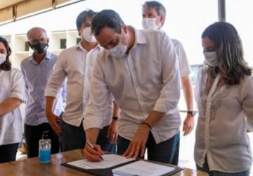 Paulo Câmara autoriza requalificação da PE-550, em Dormentes