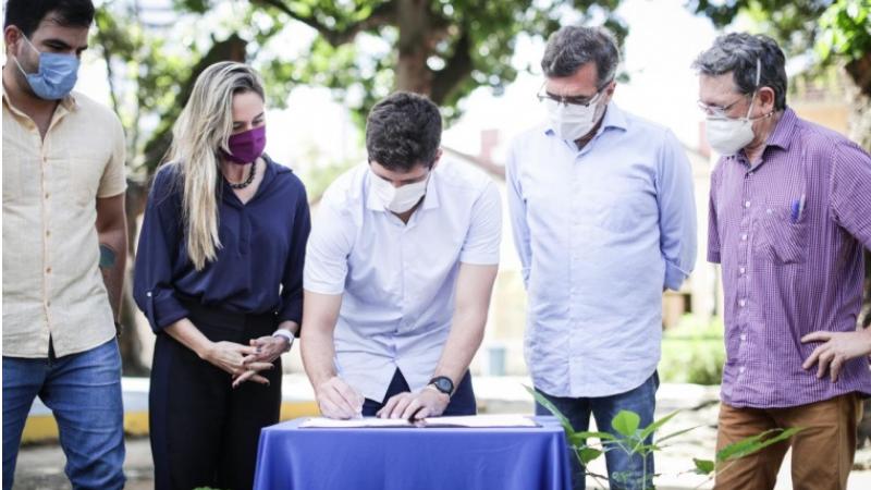 O prefeito João Campos confirmou o AME para os envolvidos nas festas de São João e enviou Projeto de Lei que seleciona até quatro patrimônios por ano