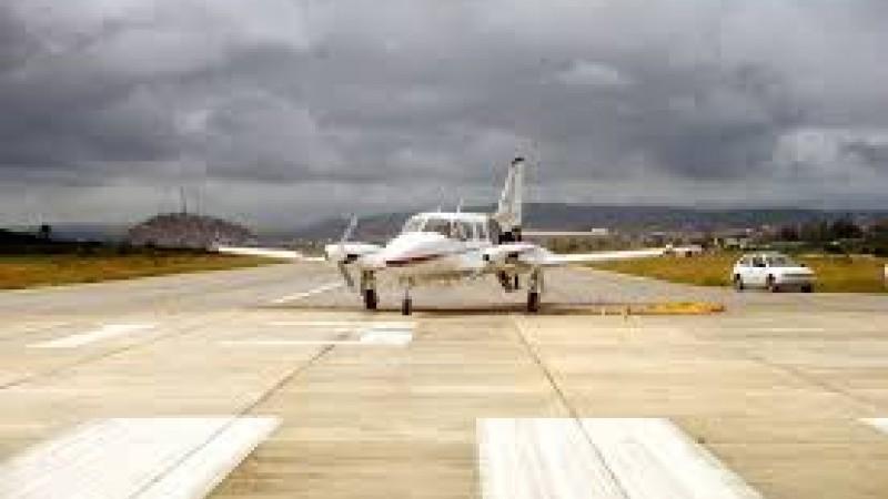 Visita tem objetivo de viabilizar voos comerciais no terminal aéreo
