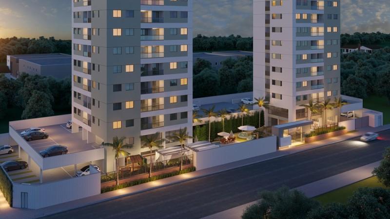 Com projeto planejado para o estilo de vida praiano, o empreendimento conta com duas torres, 21 pavimentos e 3 apartamentos por andar