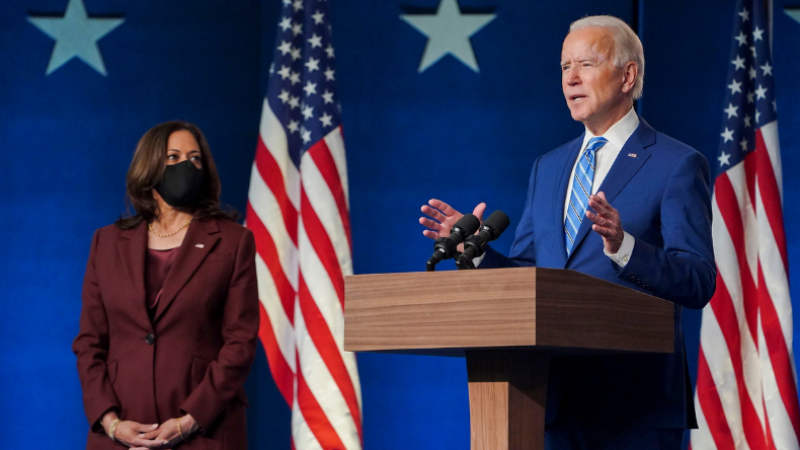 Democrata passou dos 270 votos votos no colégio eleitoral, segundo projeções de diversos veículos de imprensa, como Associated Press, 'New York Times', NBC e CNN.