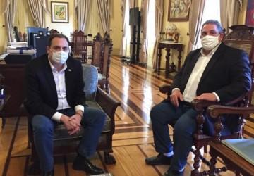 Eriberto Medeiros se reúne com o governador para discutir prioridades para Pernambuco