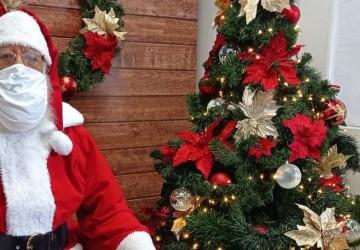 Em tempos de pandemia, o Papai Noel é virtual