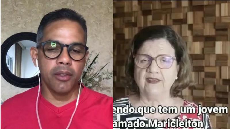 O candidato a vereador pelo PT no Cabo de Santo Agostinho, recebeu vídeo de apoio da deputada estadual Teresa Leitão à sua candidatura