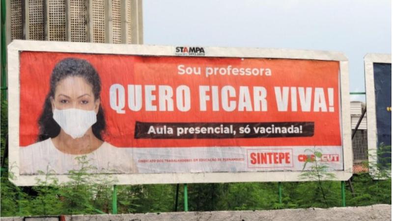 Questionada por conta da realização de eleição em plena pandemia, a diretoria do Sintepe emitiu nota