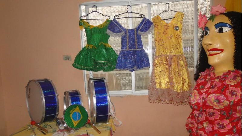Com o incentivo da Lei Aldir Blanc - PE, grupo cultural, que é tradição na zona rural da cidade de Chã de Alegria, na Mata Norte, deu uma repaginada na identidade visual e instrumental da agremiação carnavalesca