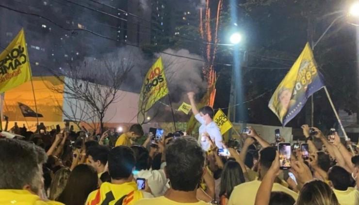 """João Campos: """"Os próximos quatro anos da minha vida serão dedicados ao cuidado integral ao Recife"""""""