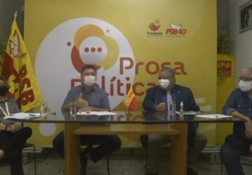 PSB de Pernambuco retoma Prosa Política discutindo políticas de prevenção à violência