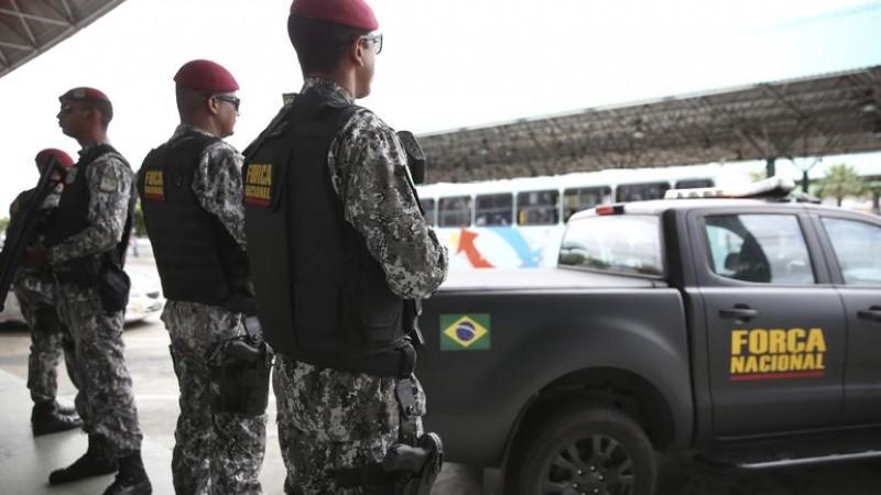 As tropas permanecerão no estado de Goiás, Pará, Paraná, Espírito Santo e Pernambuco até 20 de  dezembro. O envio faz parte de programa do governo contra crimes violentos.